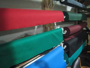 pool table refelting cloth in Hampton