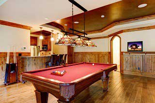 Pool table recovering services in Hampton