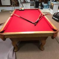 8 ft. Oak Gibraltar Table