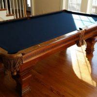 Pool Table Maple Burlwood 8 ft Professional