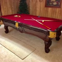 "Brunswick ""Orleans"" Pool Table & Accessories"