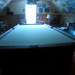 1934 Brunswick 9' pool table