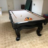 8' Pool Table Billards
