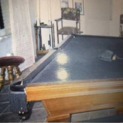 Slate Top Pool Table