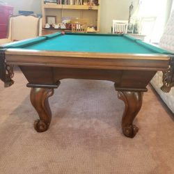 Peter Vitalie 8' Pool Table